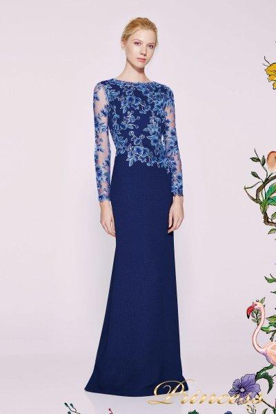Вечернее платье ATH16206LXY NAVY (синий)