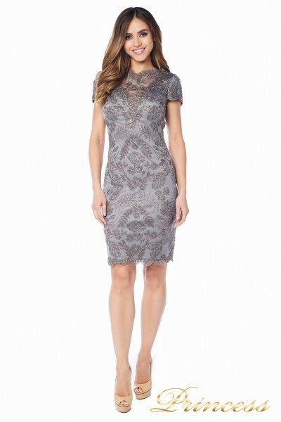 Вечернее платье Tadashi Shoji AUL16575M DARKPEARL (стальной)