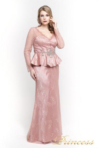 Вечернее платье 12074 (розовый)