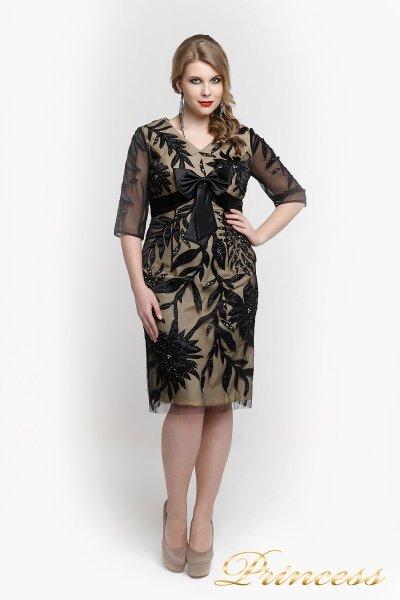 Вечернее платье 661076 (чёрный)