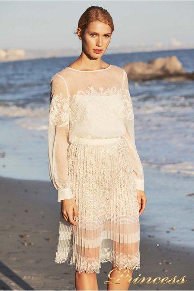 Вечернее платье BDH 18399 WHITE (белый)