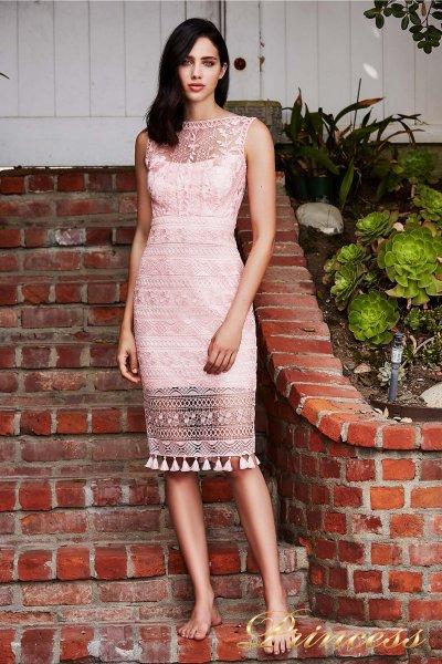 Вечернее платье BDM 18591M ROSE (розовый)