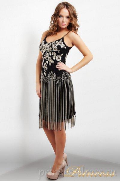 Вечернее платье 6665E  (чёрный)