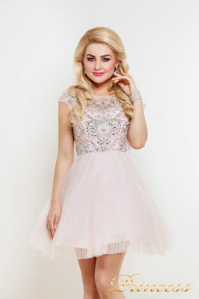 Платье на выпускной 24P (розовый)