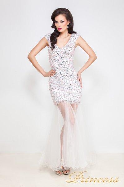 Коктейльное платье 26L (розовый)