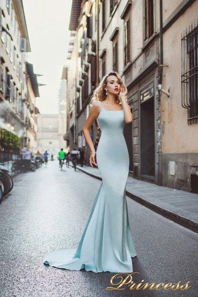 Вечернее платье 8001 (пастельный)