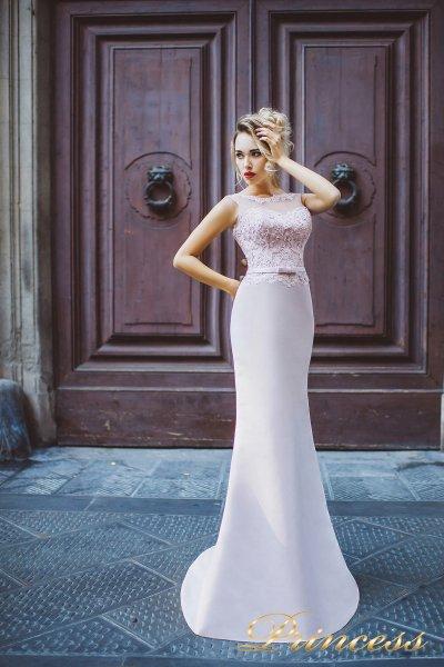 Вечернее платье 8011 (серый)