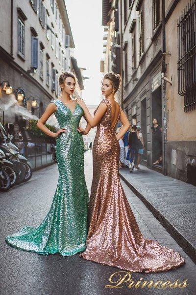 Вечернее платье 8015 (цветное )