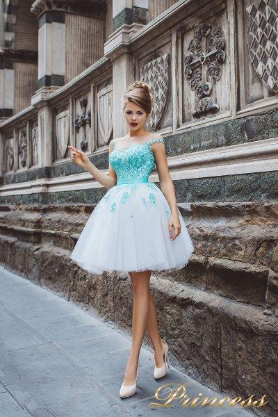 Вечернее платье 8024 (айвори)