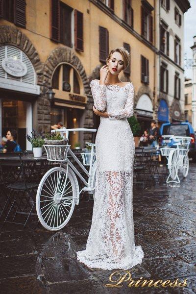 Вечернее платье 8029 (айвори)