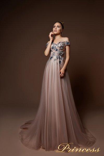 Вечернее платье 9078 (белый)