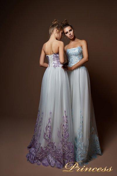 Вечернее платье 9079 (белый)