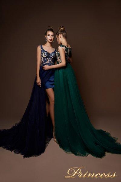 Вечернее платье 9081 (navy)