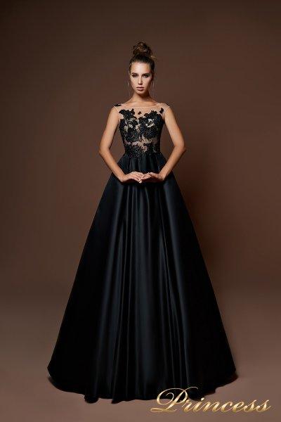 Вечернее платье 9083 (чёрный)