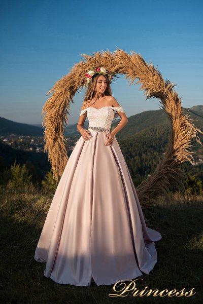 Вечернее платье 29060 (айвори)
