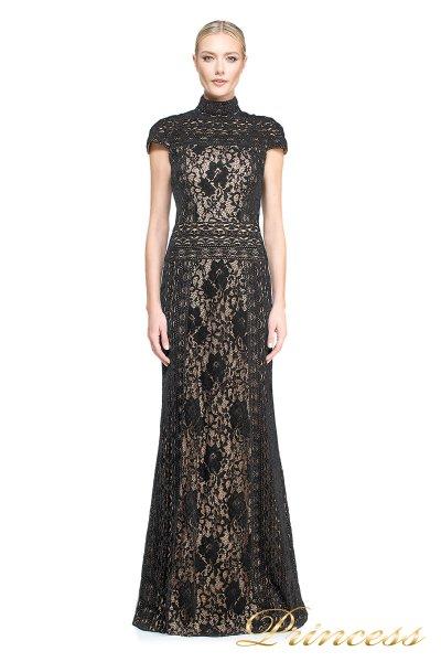 вечернее платье TADASHI SHOJI AUM16556LB BK/ND (чёрный)