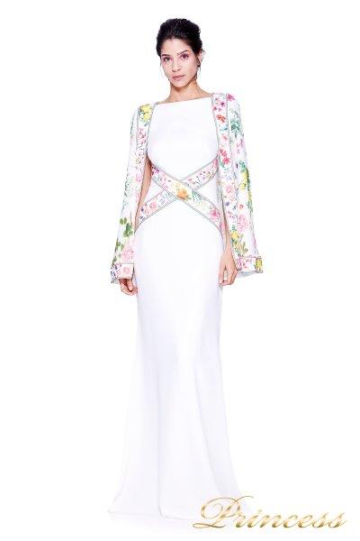 Вечернее платье TADASHI SHOJI AVZ17126L (белый)