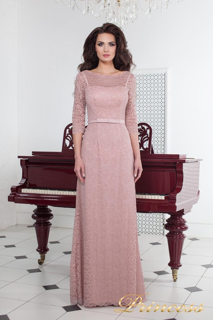 Вечернее платье 1788 pink розового цвета