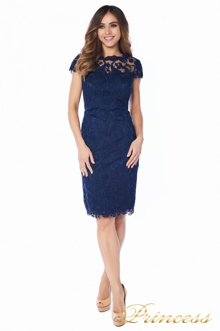 Вечернее платье 1812 MPN navy синего цвета