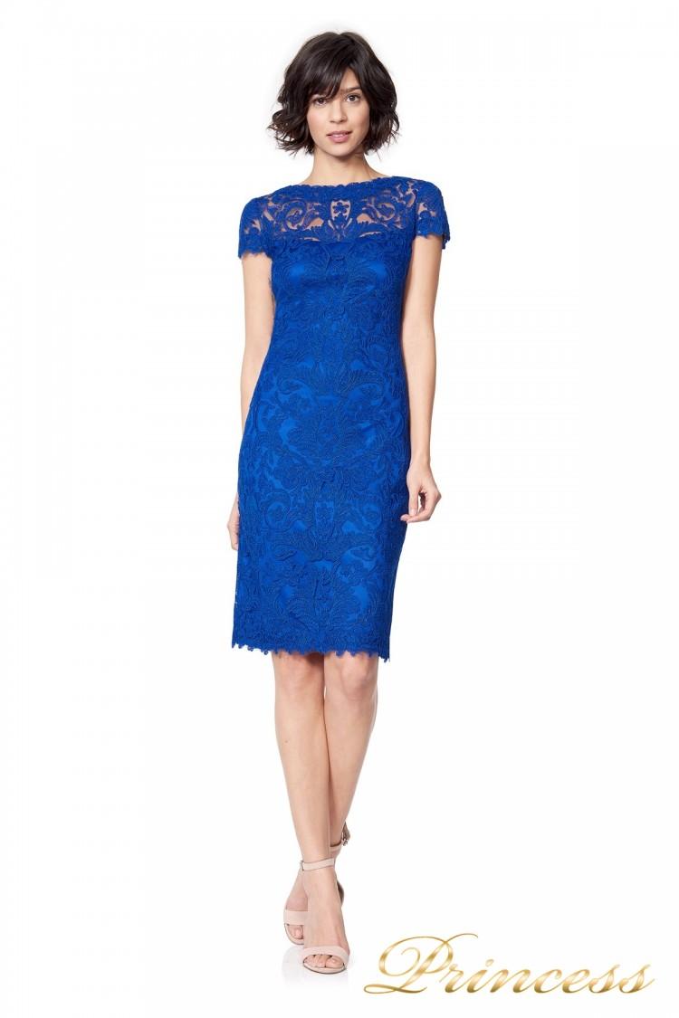 Вечернее платье Tadashi Shoji alx1812m-mystc цвета электрик