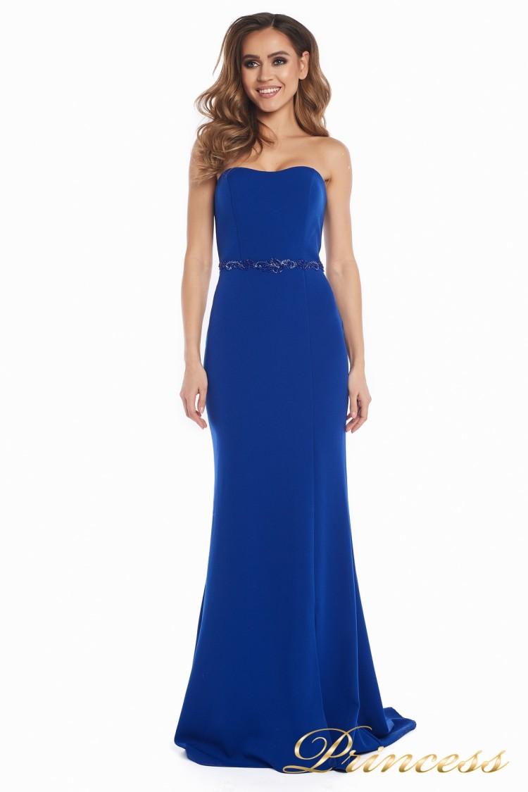 Вечернее платье 3200_royal цвета электрик