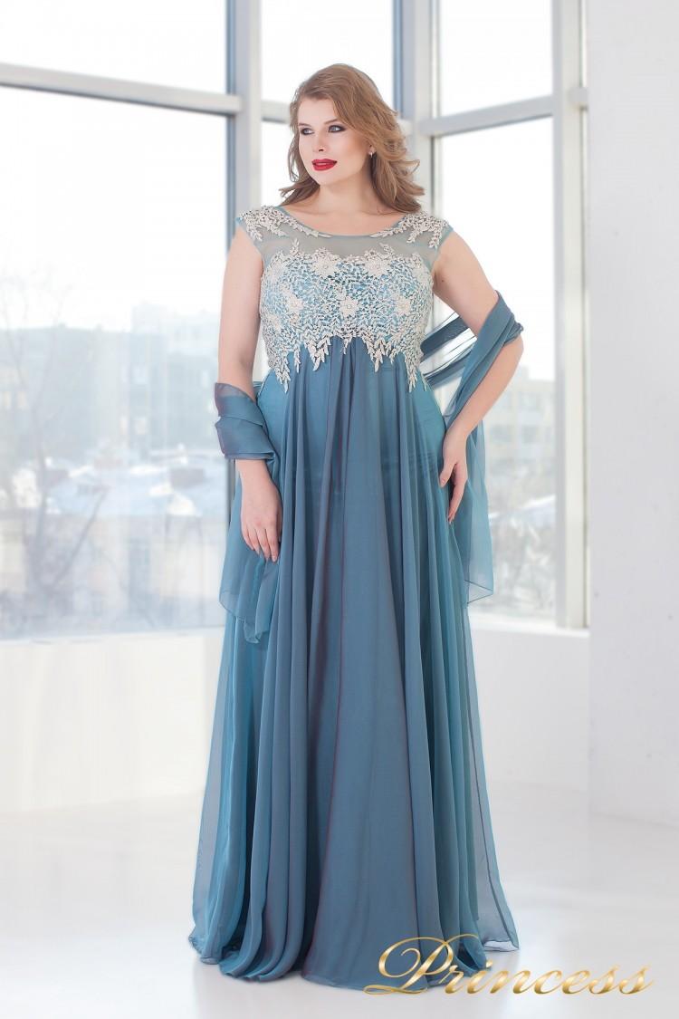 Вечернее платье 4675 B пастельного цвета
