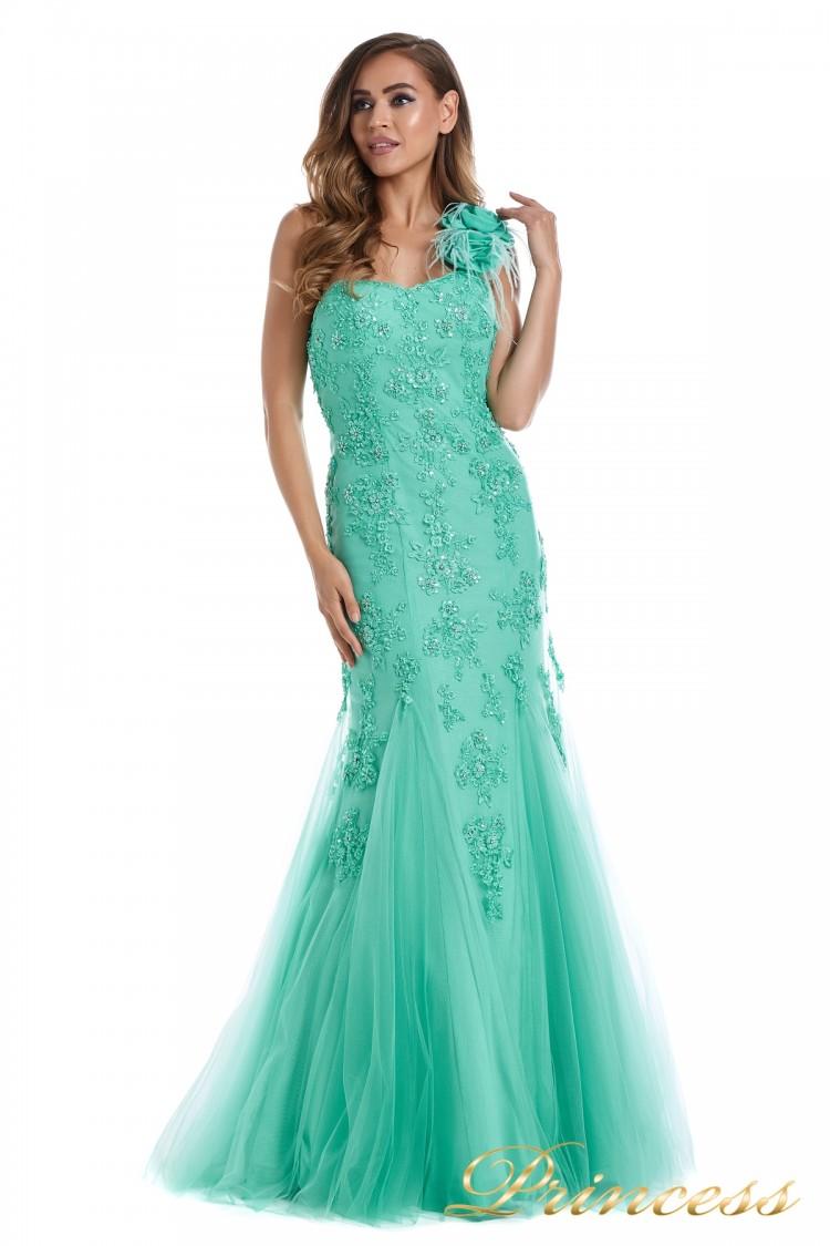 Вечернее платье 6010G цветного цвета