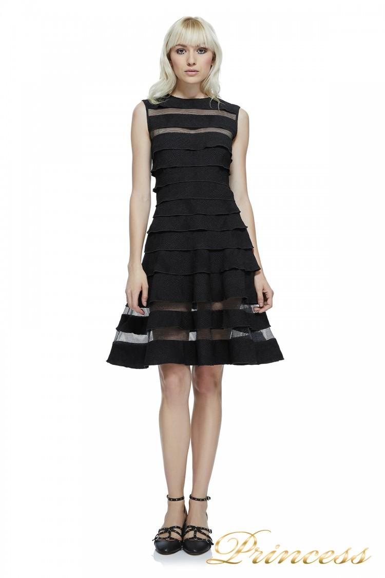 Вечернее платье AXX17820M BLACK чёрного цвета