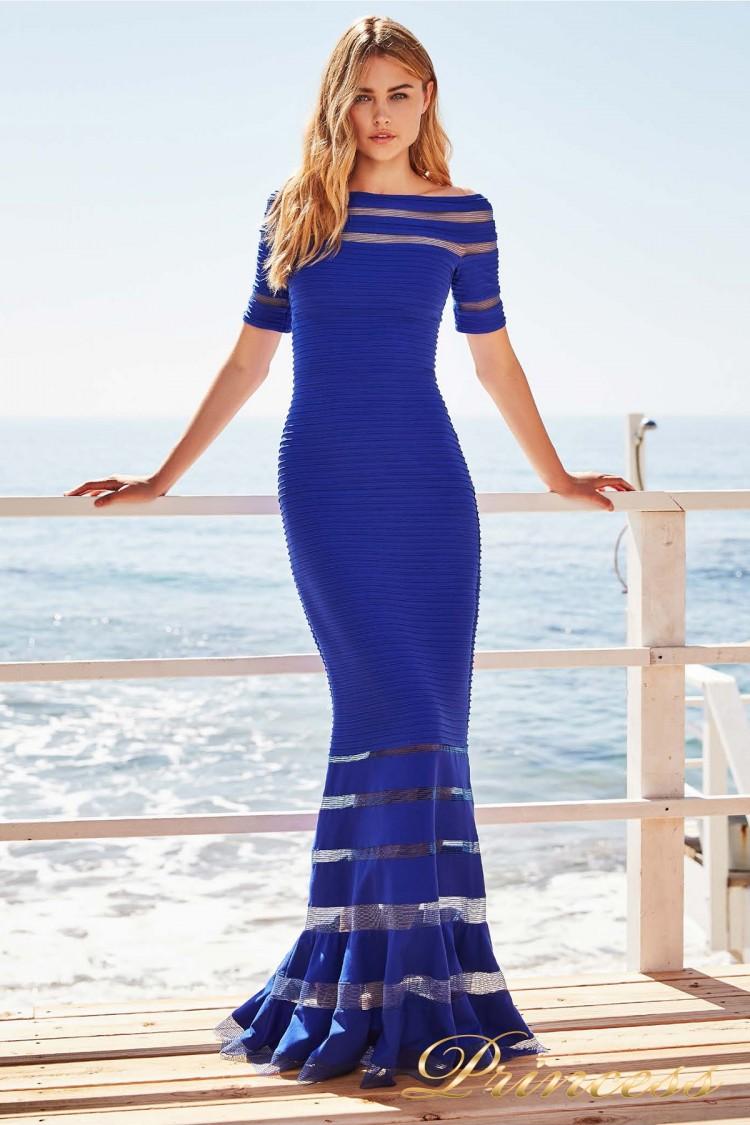 Вечернее платье 6L 18106L MARINA цвета электрик