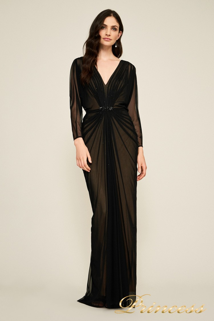 #7318487 LXB CALICO RUCHED GOWN