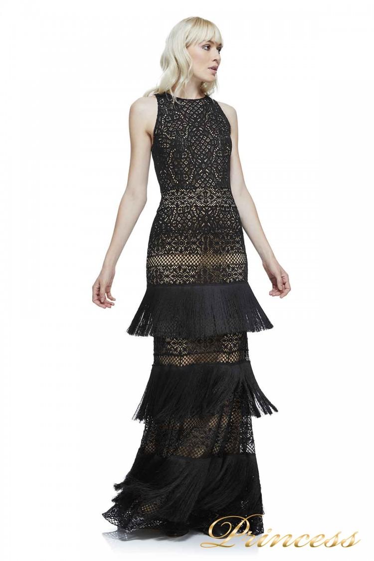 Вечернее платье AWZ17428L BK ND чёрного цвета