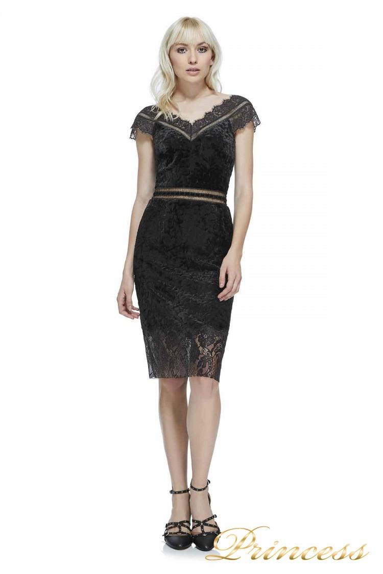 Вечернее платье AZC17732M BLACK 10 чёрного цвета