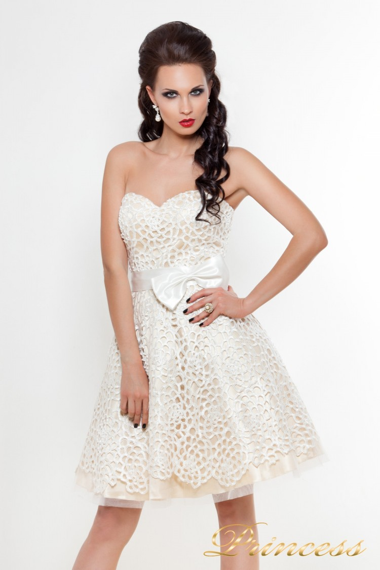 Платье на выпускной 78359N пастельного цвета