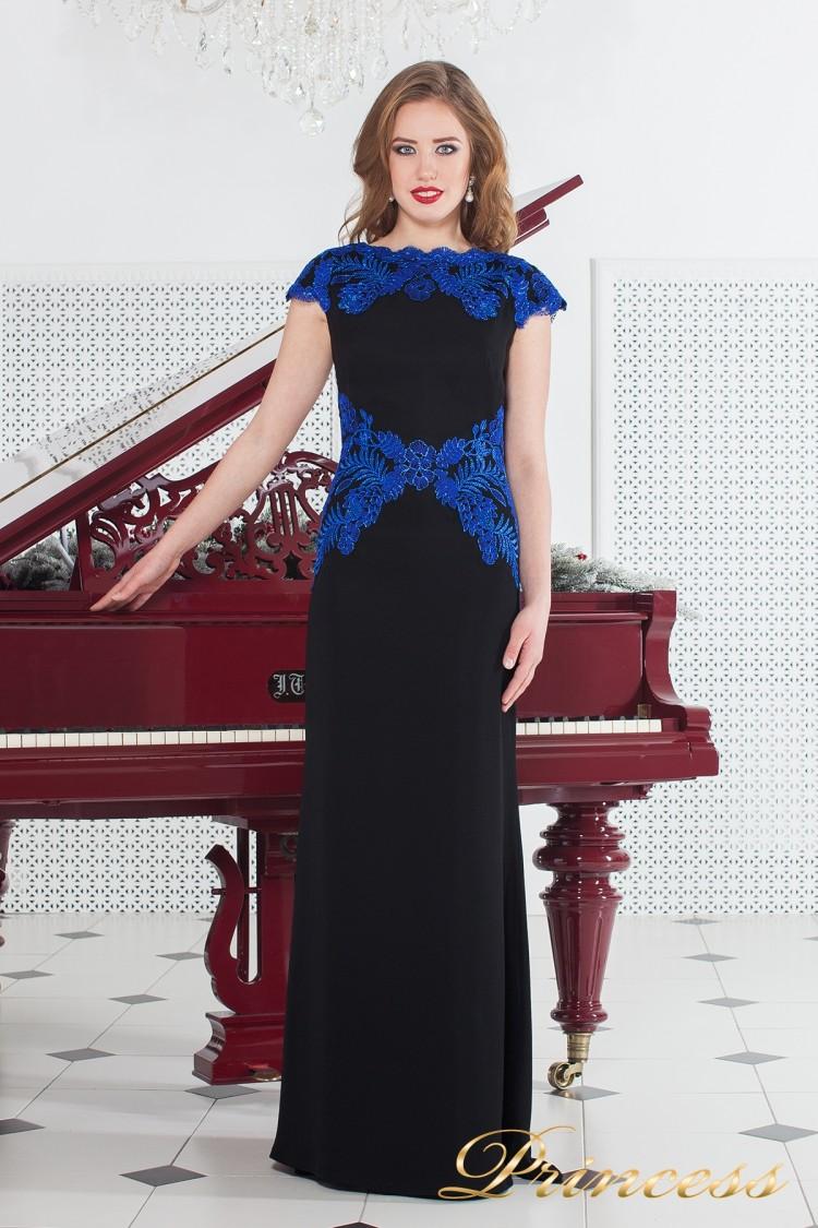 Вечернее платье AUL15135LX чёрного цвета