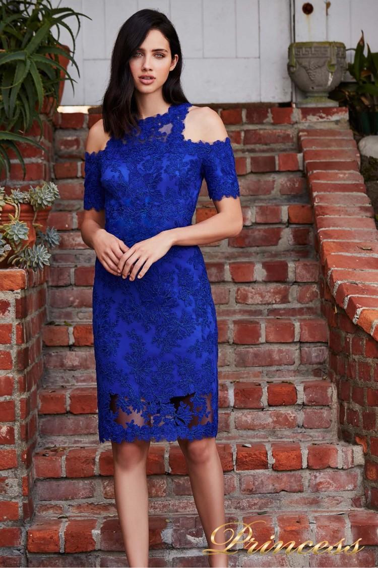 Вечернее платье BCS 18109M INDIGO цвета электрик