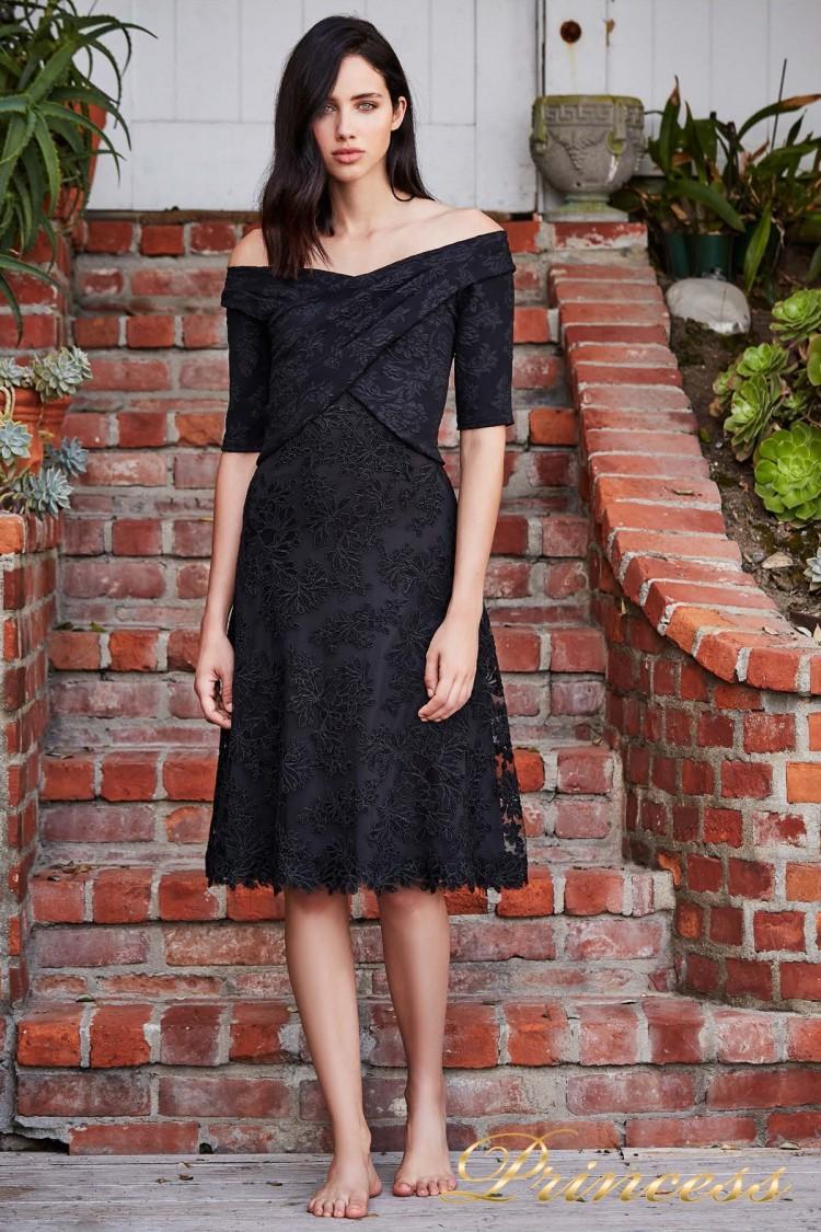Вечернее платье BCS 18724M BLACK чёрного цвета