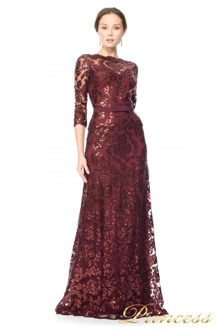 Вечернее платье Tadashi Shoji ALT1224LM красного цвета