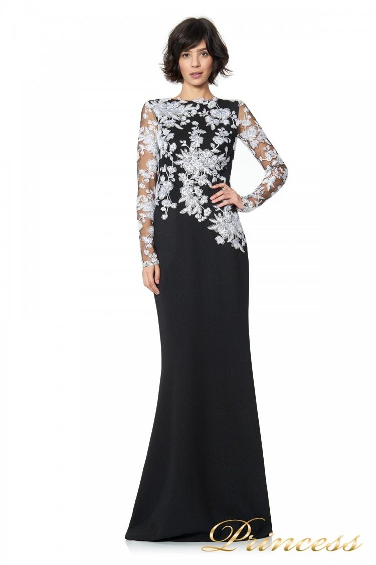 Вечернее платье TADASHI SHOJI ATH16206LXY  чёрного цвета