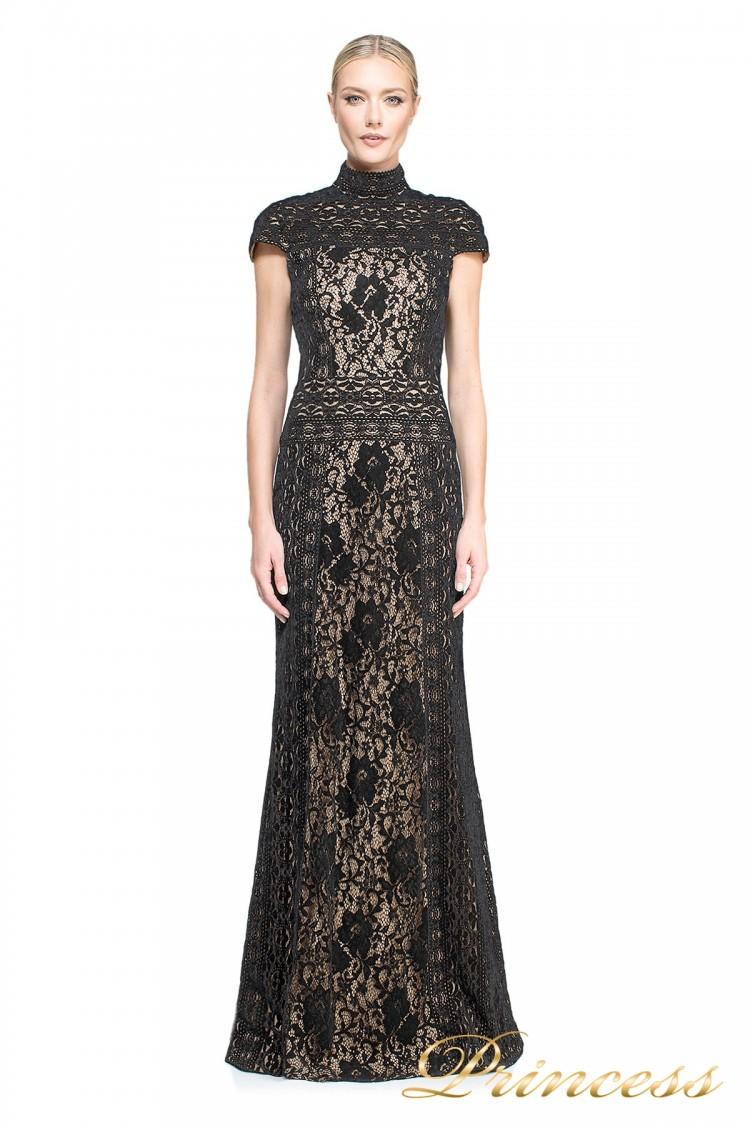 вечернее платье TADASHI SHOJI AUM16556LB BK/ND чёрного цвета