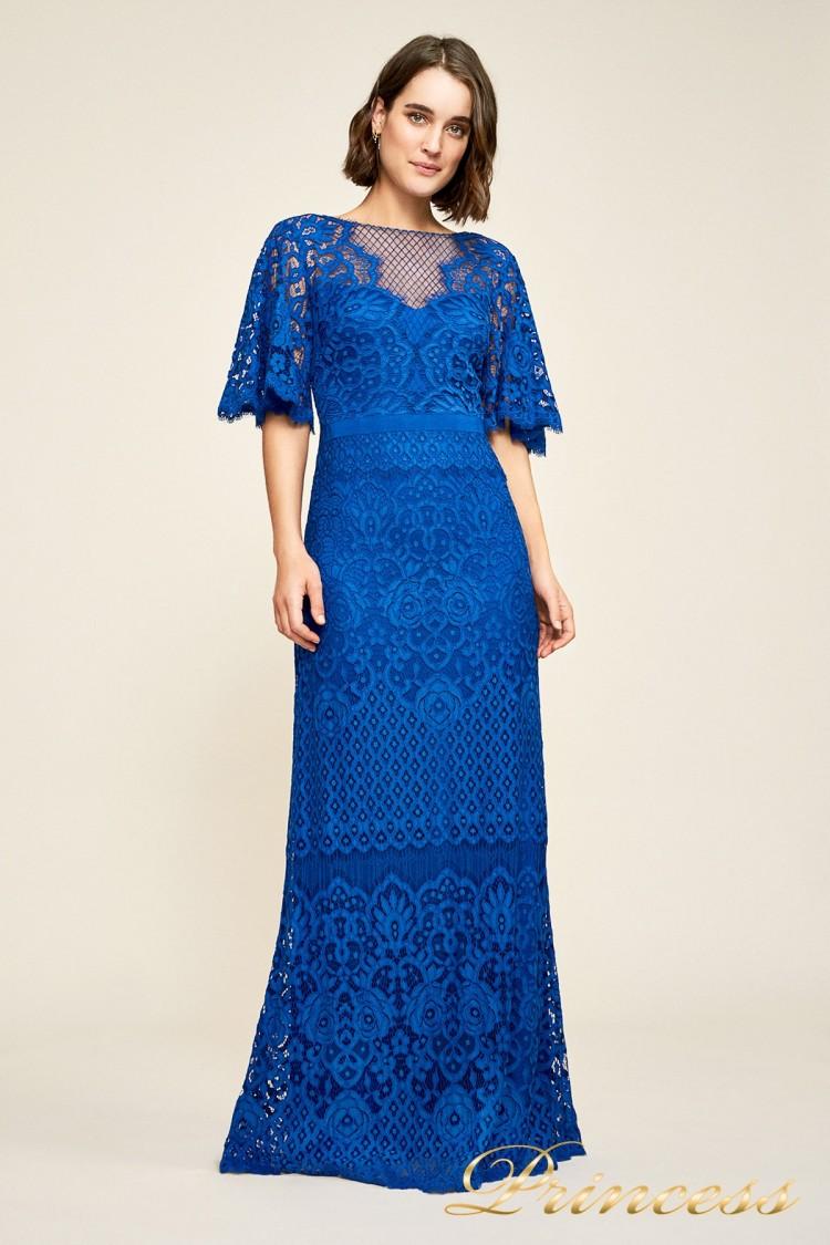 Вечернее платье AUA18255L blvlt цвета электрик