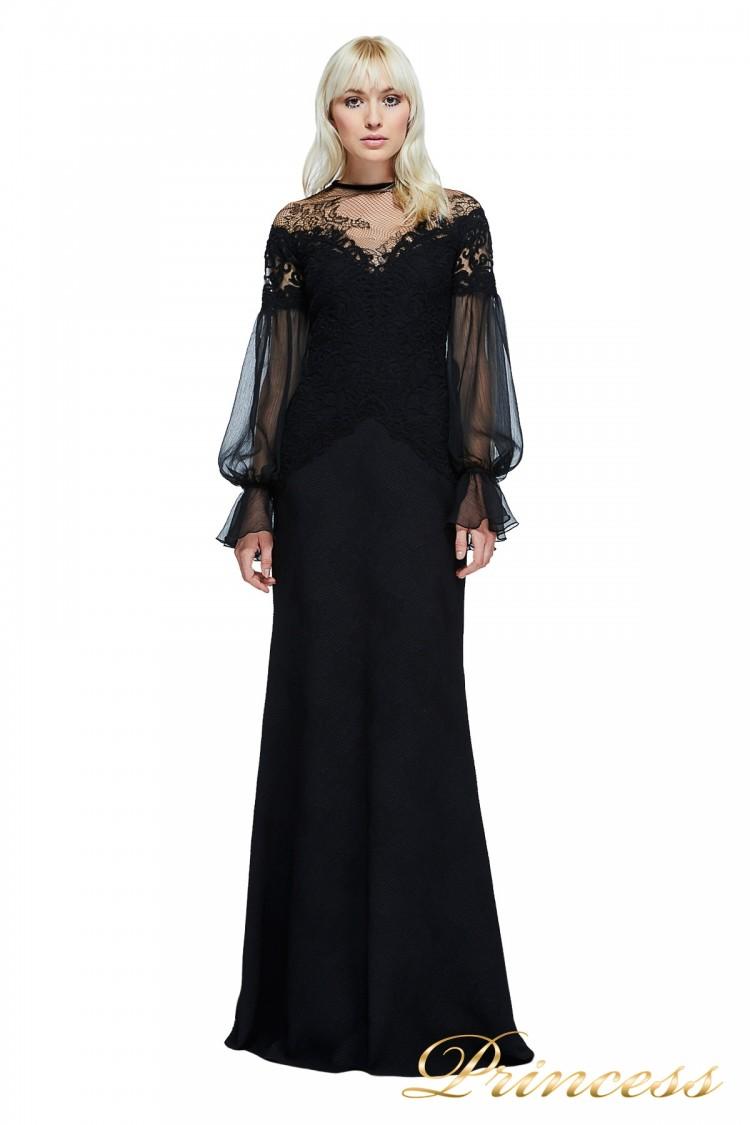Вечернее платье TADASHI SHOJI AZY17747L чёрного цвета