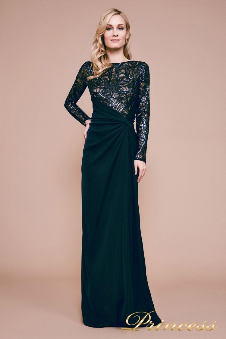 Вечернее платье BET18082L синего цвета