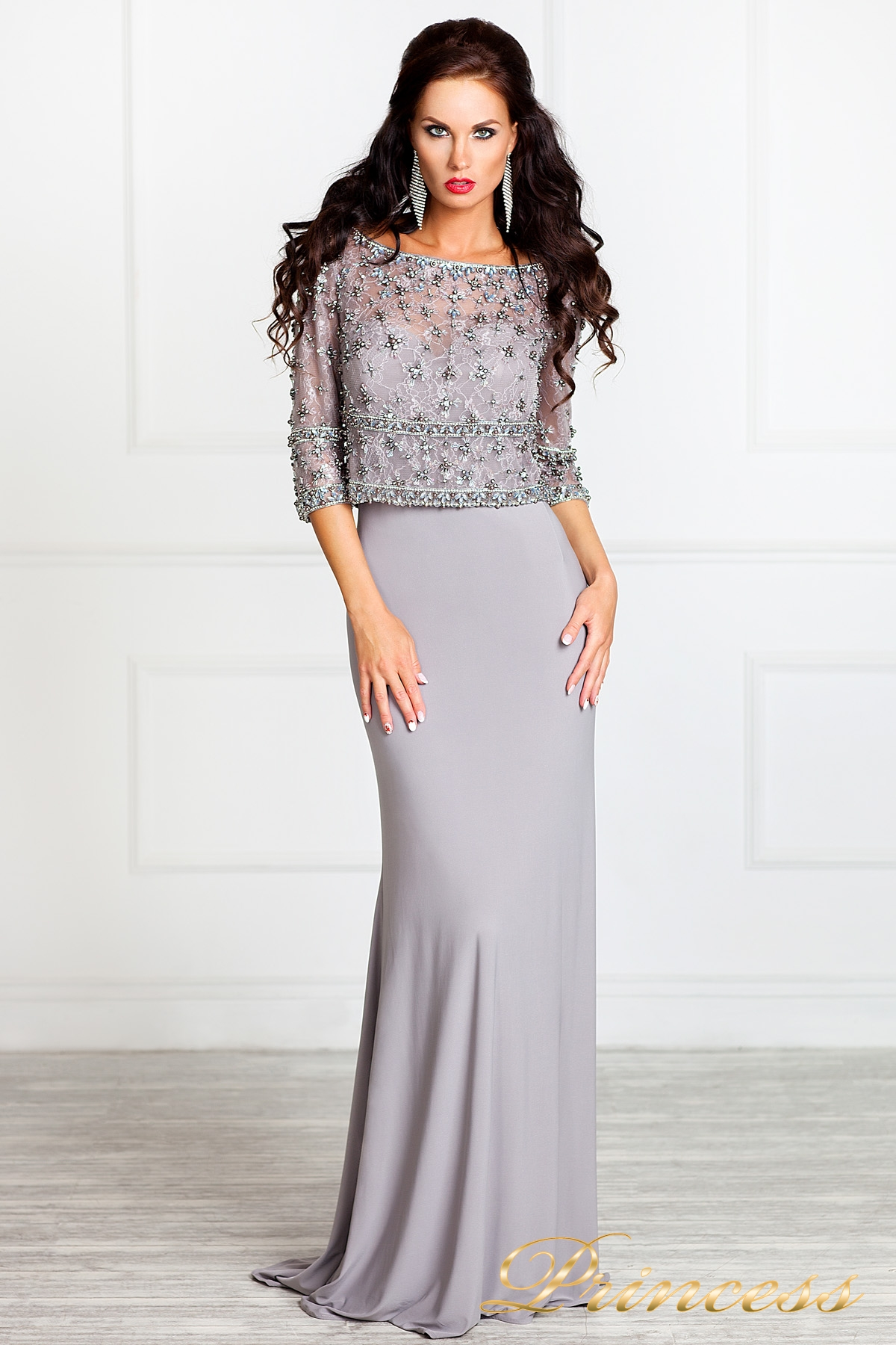 платье стального цвета купить